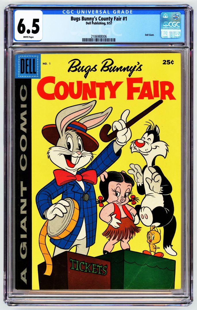 Front Scan of Bugs Bunny 1